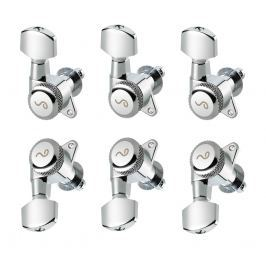 Schaller M6 135 3L/3R locking 19,5 Chrome