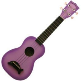 Kala Makala Soprano Ukulele Purple Burst with Non Woven Bag