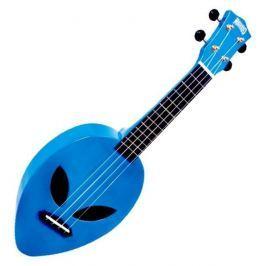 Mahalo Soprano Ukulele Alien Metallic Blue Ukulele sopranowe