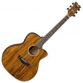 Dean Guitars AXS Exotic Cutaway A/E - Koa Jumbo z elektroniką