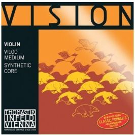Thomastik THVI100 VISION Violin String Set 4/4