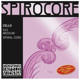 Thomastik THS31 SPIROCORE Cello String Set 4/4