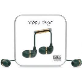 Happy Plugs In-Ear Jade Green Marble