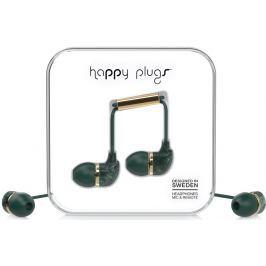 Happy Plugs In-Ear Jade Green Marble