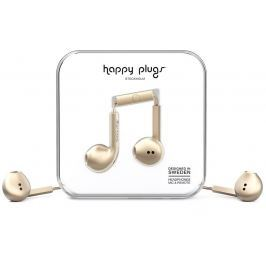 Happy Plugs Earbud Plus Champagne Deluxe Edition