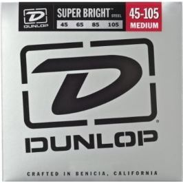 Dunlop DBSBS45105 Stainless Steel Bass Guitar Strings, Medium