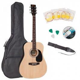 Encore EWP-100N Acoustic Guitar Outfit Natural