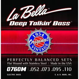 LaBella 0760M Deep Talkin' Bass 1954 Stainless Steel Flat Wound