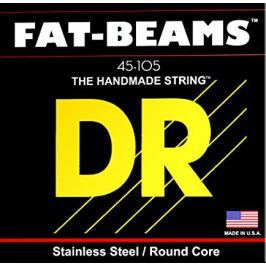 DR Strings Fat Beams Stainless 4 Strings 045-105