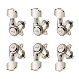 Schaller M6 135 3L/3R locking 19,5 Nickel