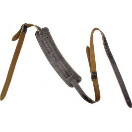 Fender Vintage-Style Distressed Leather Strap Black