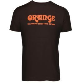 Orange Classic Brown T-Shirt Large