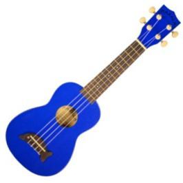 Kala Makala Soprano Ukulele Metallic Blue with Non Woven Bag