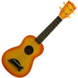 Kala Makala Soprano Ukulele Orange Burst with Non Woven Bag