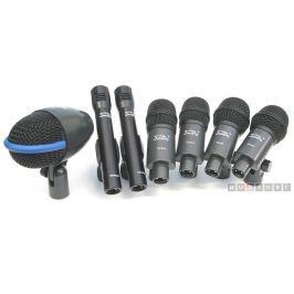 Soundking E07 Drum Microphone Kit-Black