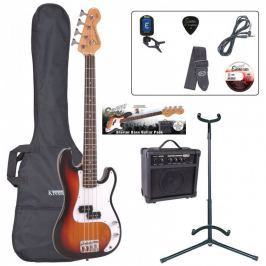Encore EBP-E20SB 7/8 Bass Guitar Outfit Sunburst