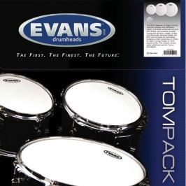 Evans Hydraulic Glass Clear Tom Pack-Standard (12'', 13'', 16'')