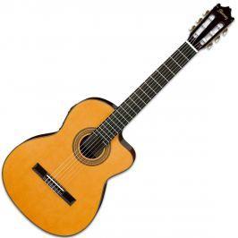 Ibanez GA6CE Cutaway Classic Guitar Amber High Gloss (B-Stock) #908636