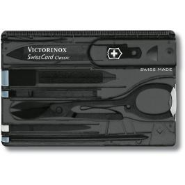 Victorinox SwissCard Black Transparent