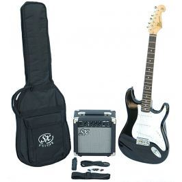 SX SE1 Electric Guitar Kit Black (B-Stock) #909039