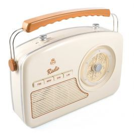GPO Retro Rydell Nostalgic DAB Radio Cream