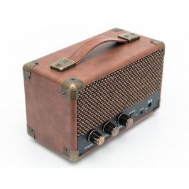 GPO Retro Westwood Mini Speaker Brown