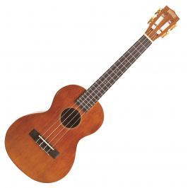 Mahalo Electric-Acoustic Tenor Ukulele Cutaway Vintage Natural