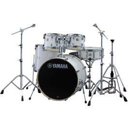 Yamaha Stage Custom Birch Pure White + HW680
