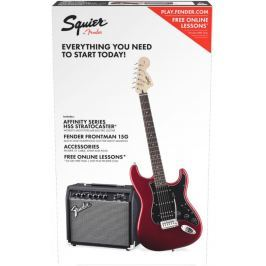 Fender Squier Affinity Series Stratocaster HSS Pack ILCandy Apple Red (B-Stock) #909949