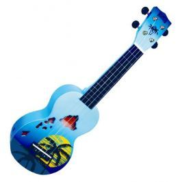 Mahalo Soprano Ukulele Hawaii Blue Burst