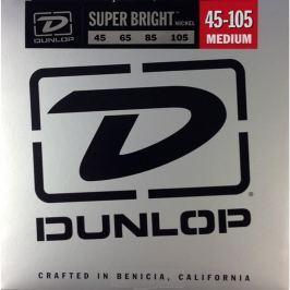 Dunlop DBSBN45105 Nickel Plated Bass Guitar Strings, Medium Grubość 045
