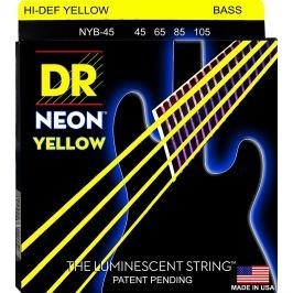 DR Strings DR Neon Bass Yellow 45