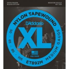 D'Addario ETB 92 M  SET BASS TAPEWOUND 50-105 MEDIUM