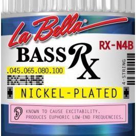LaBella RX-N4B Bass RX Nickel-Plated 45-65-80-100