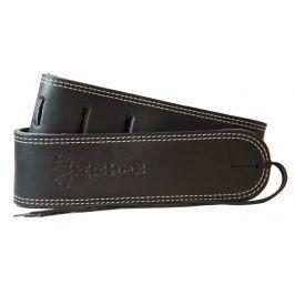 Martin 18A0013 Baseball Glove Leather Guitar Strap, Black