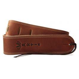 Martin 18A0012 Baseball Glove Leather Guitar Strap, Brown
