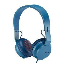 House of Marley Roar On-Ear Headphones with Mic Navy