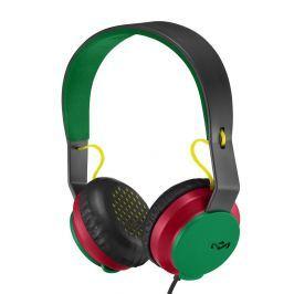 House of Marley Roar On-Ear Headphones with Mic Rasta Słuchawki z mikrofonem