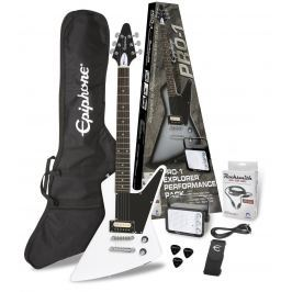 Epiphone PRO-1 Explorer Performance Pack Alpine White