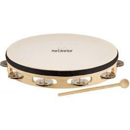 Nino NINO25 Headed Wood tambourine 10