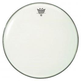 Remo 24''  Ambassador Smooth White Naciągi satynowe i białe 24