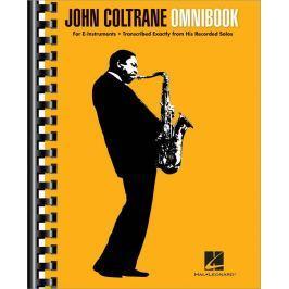Hal Leonard John Coltrane - Omnibook Alto Saxophone, Bariton Saxophone