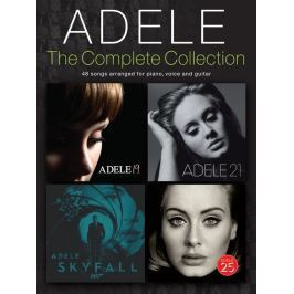 Hal Leonard Adele: The Complete Collection Piano, Vocal and Guitar