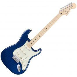 Fender Deluxe Stratocaster MN Sapphire Blue Transparent