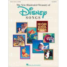 Hal Leonard New Illustrated Treasury Of Disney Songs Piano
