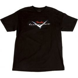 Fender Custom Shop Original Logo T-Shirt Black XL