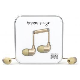 Happy Plugs In-Ear Champagne Matte Deluxe Edition