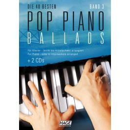 HAGE Musikverlag Pop Piano Ballads 3 (2x CD)