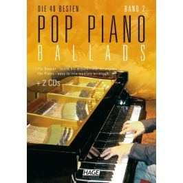 HAGE Musikverlag Pop Piano Ballads 2 (2x CD)