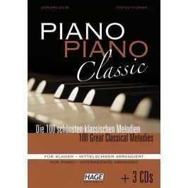 HAGE Musikverlag Piano Piano Classic Intermediate (3x CD)